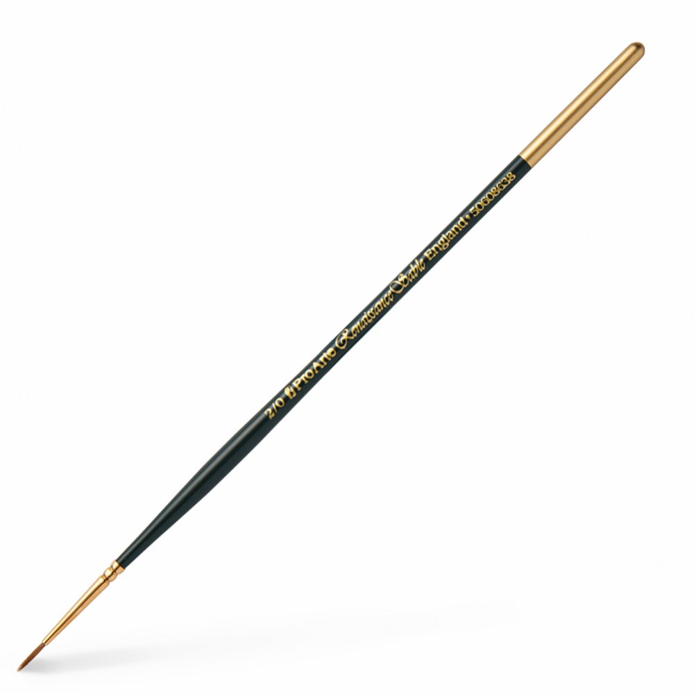 Pro Arte : Renaissance Sable Watercolour Brush Size 2/0
