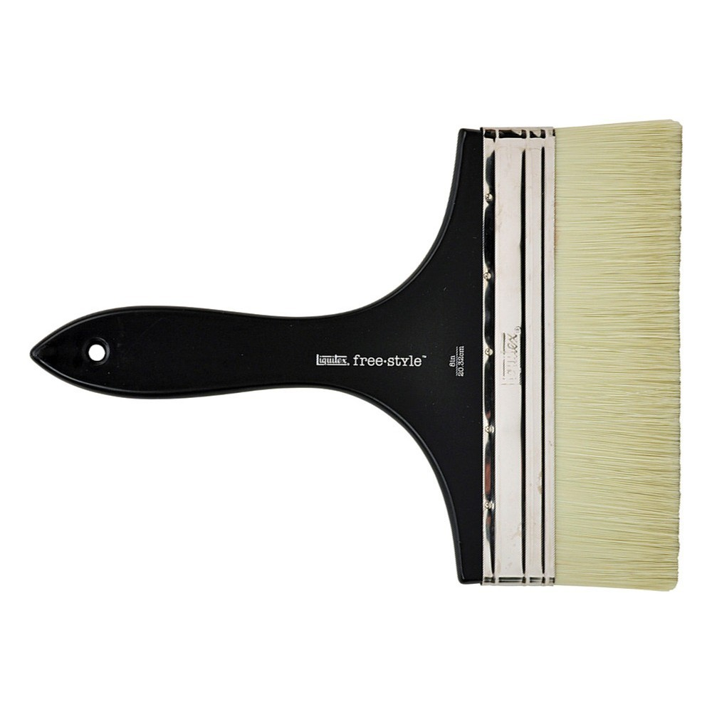 Liquitex Brush MURAL Short Handle VARNISH 8 INCH