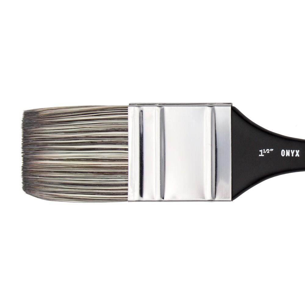 Jackson's : Onyx : Synthetic Brush : Flat Mottler : 1.5in