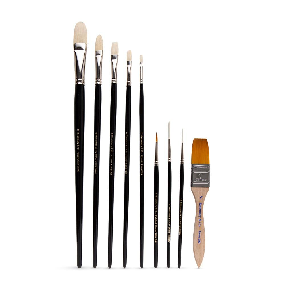 Rosemary & Co : The Jason Morgan : Ultimate Brush : Set of 9