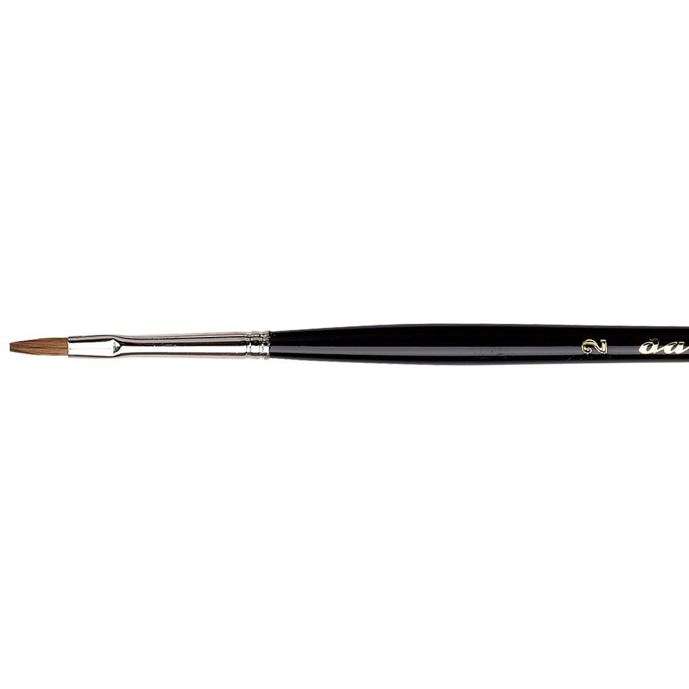 Da Vinci : Maestro : Kolinsky Tobolsky Sable : Series 1301 Flat Size 2