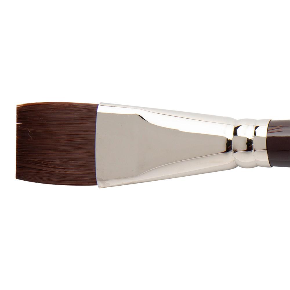 W&N : Galeria Brush : Short Handled : One-Stroke : 25mm