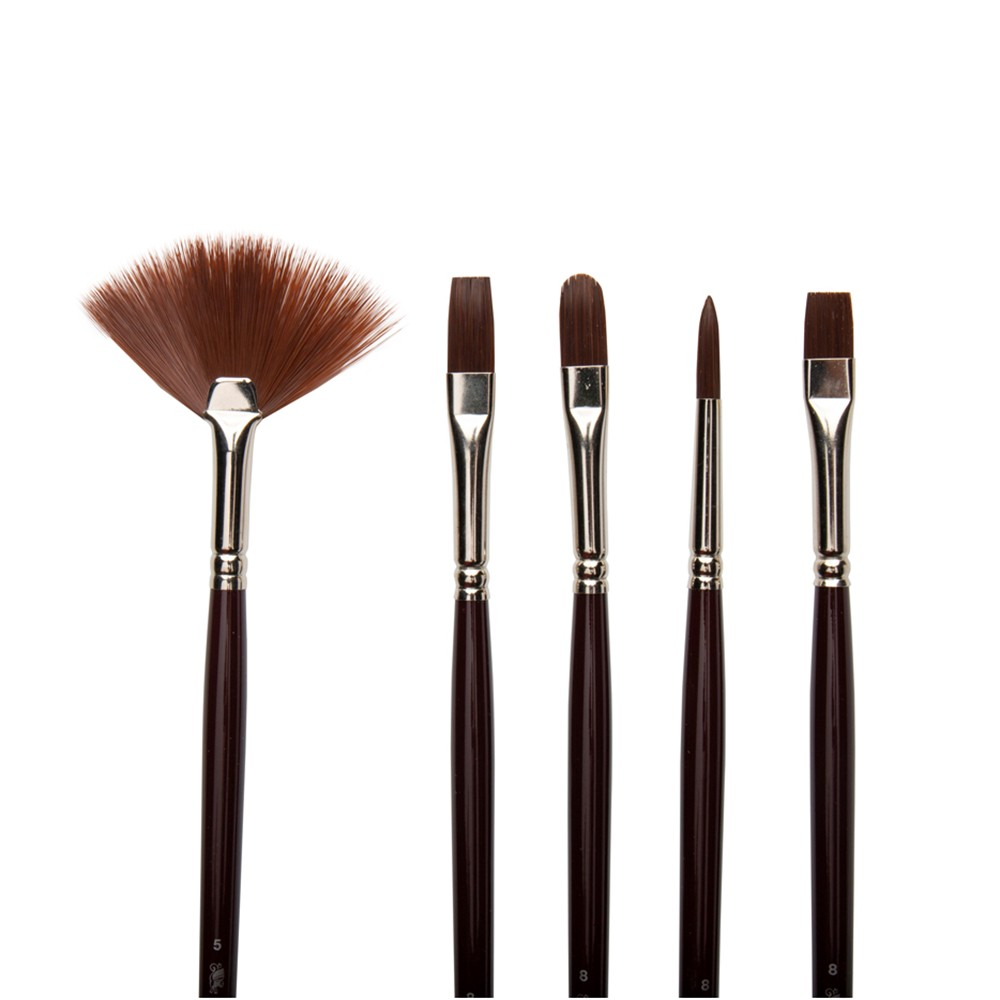 W&N : Galeria : Acrylic Brush : Set of 5