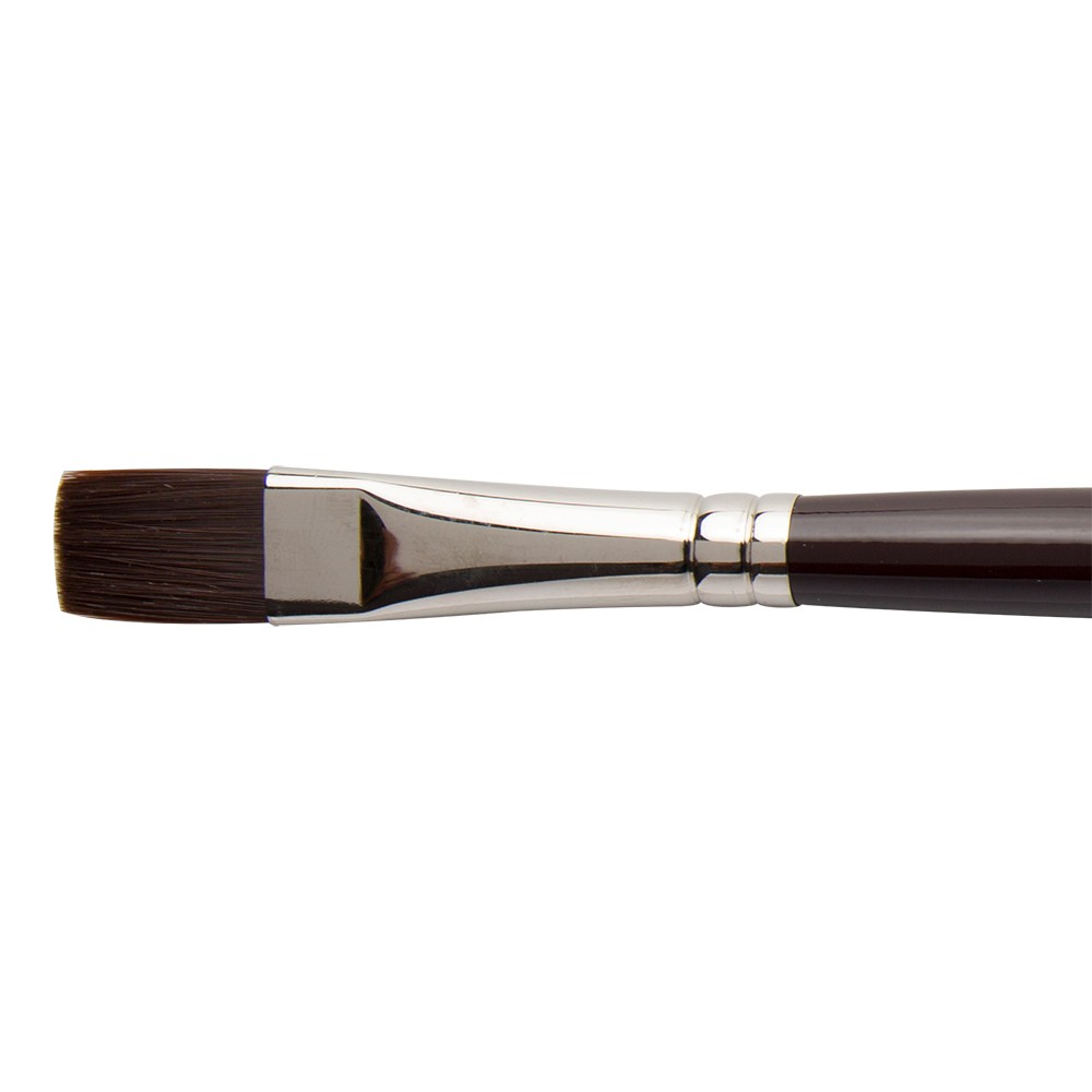 W&N : Galeria Brush : Long Handled : Short Flat : No 14
