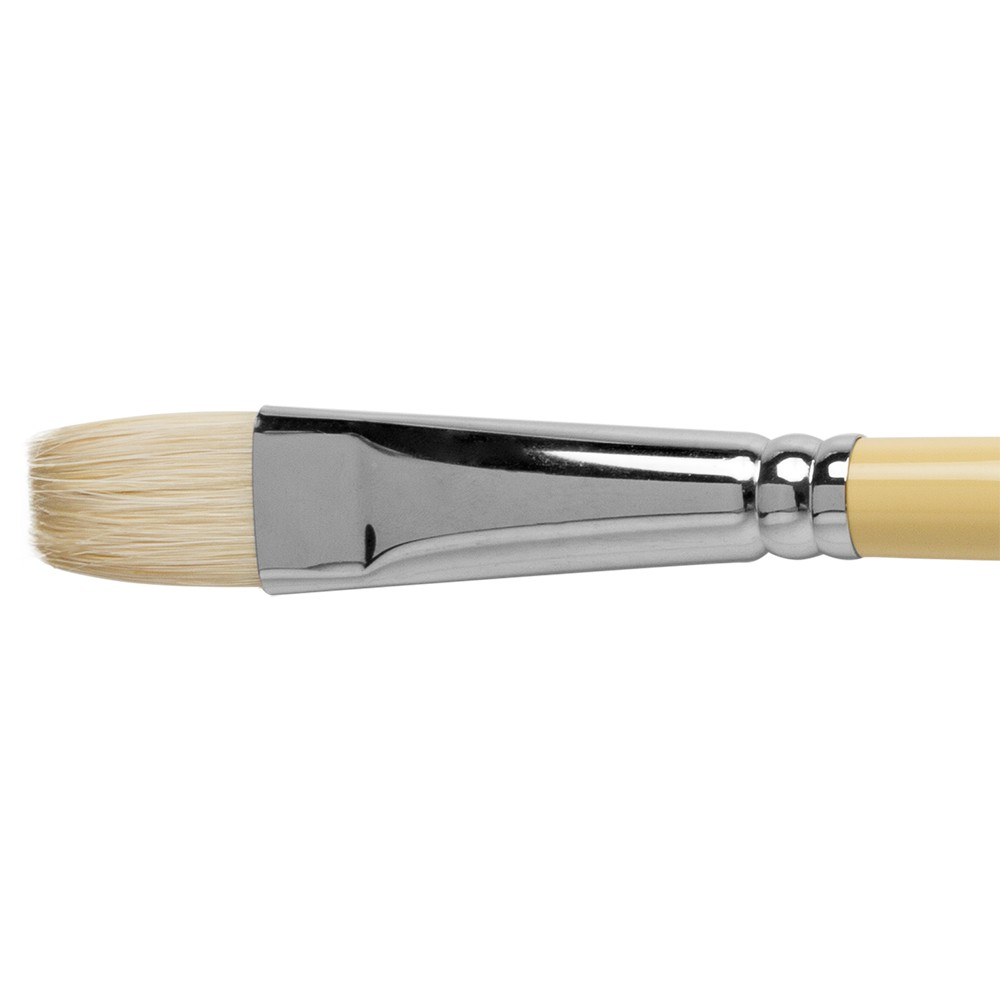 Winsor & Newton : Artist Hog Brush : Long Flat : No 10