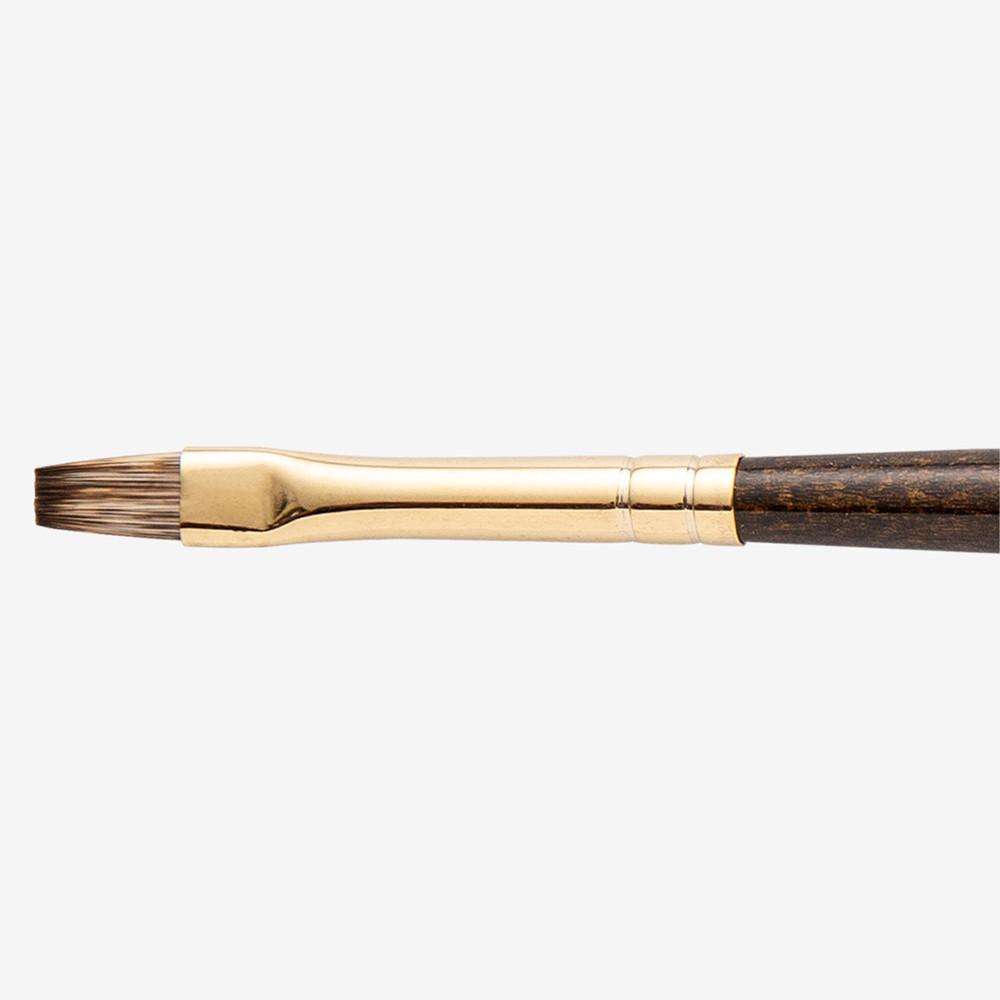 Winsor & Newton : Monarch Brush : Flat : No.4