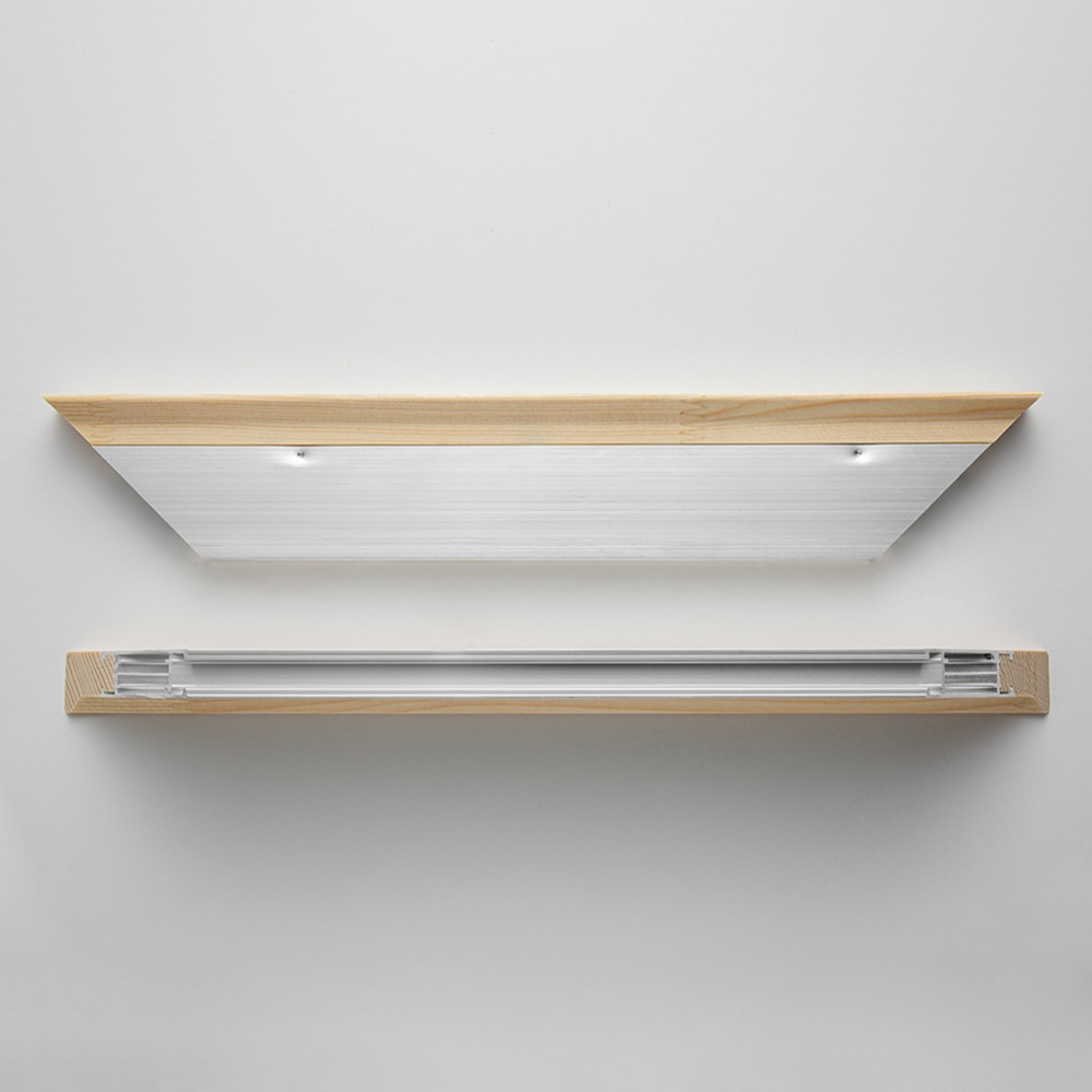 Jackson's : Museo : Alu-Pro : 25mm : 40cm : Aluminium Stretcher Bars : Pair : Slim Profile