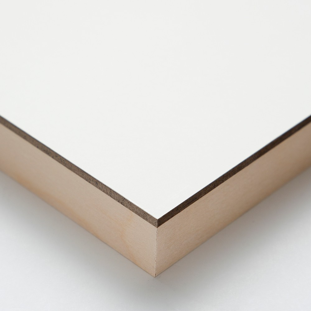 Ampersand : Claybord Panel : Cradled 22mm : 8x8in