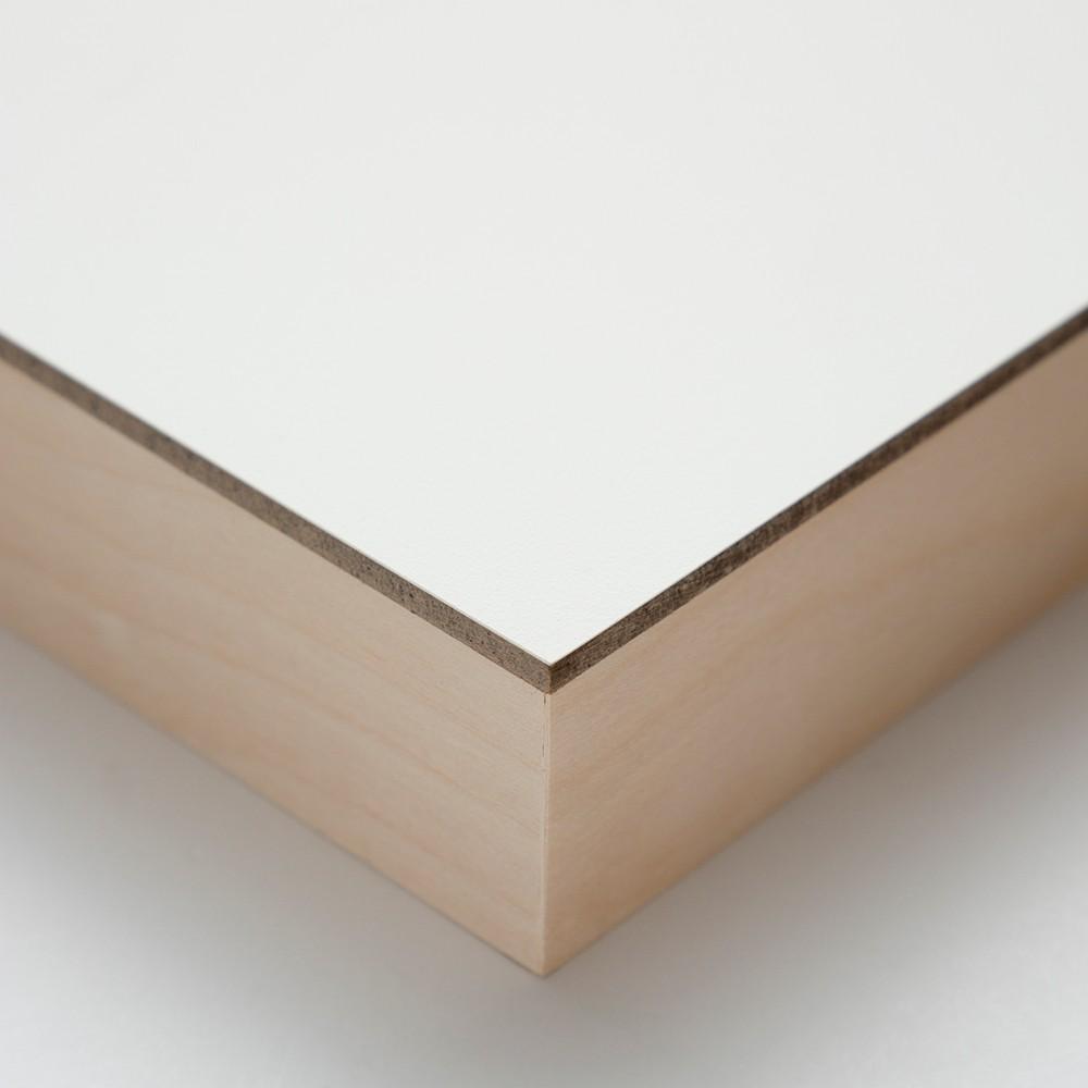 Ampersand : Encausticbord Panel : Cradled 38mm : 8x8in