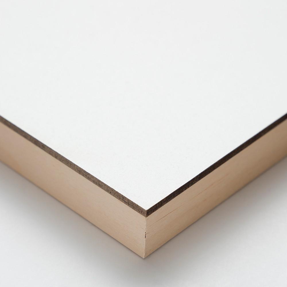 Ampersand : Gessobord Panel : Cradled 22mm : 11x14in