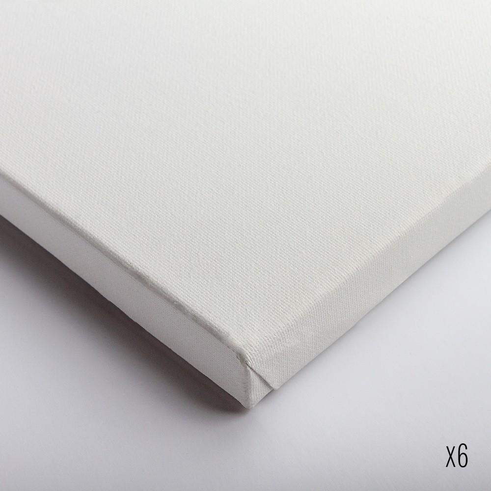 Belle Arti : Stretched Canvas : Fine Cotton (64/569) : 20x40cm : Box of 6