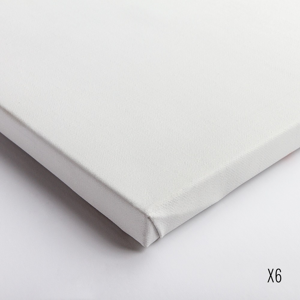 Belle Arti : Linen 62/574 : Universal Primed Fine Grain : 24x30cm : Box of 6