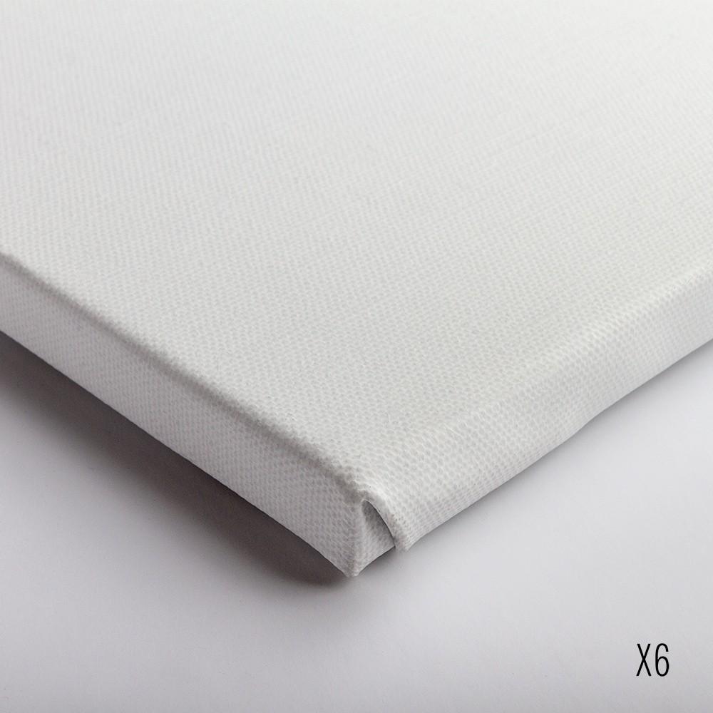 Belle Arti : Linen 60/568 : Universal Primed Medium Grain : 40x50cm : Box of 6