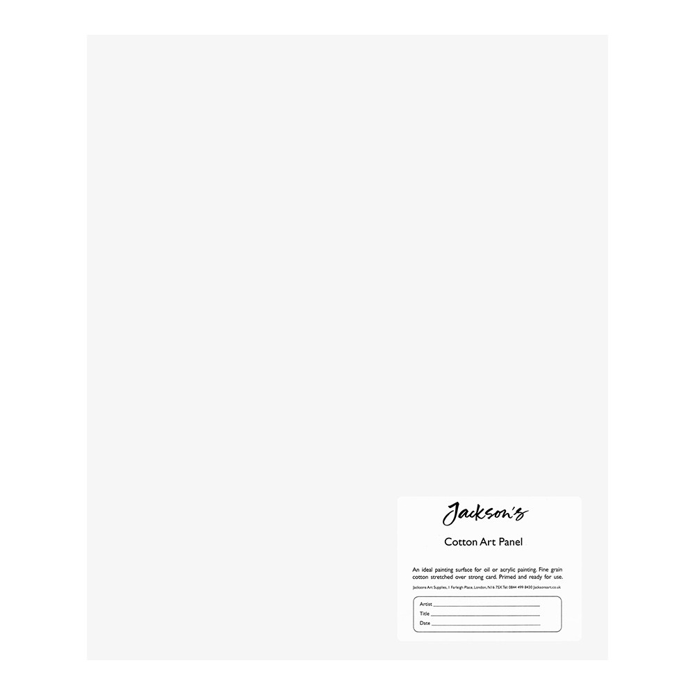 Jackson's : Academy 3mm Cotton Art Board : Canvas Panel : 10x12in