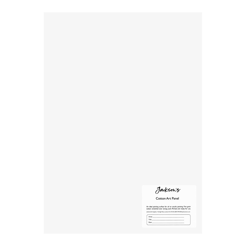 Jackson's : Academy 3mm Cotton Art Board : Canvas Panel : 10x14in