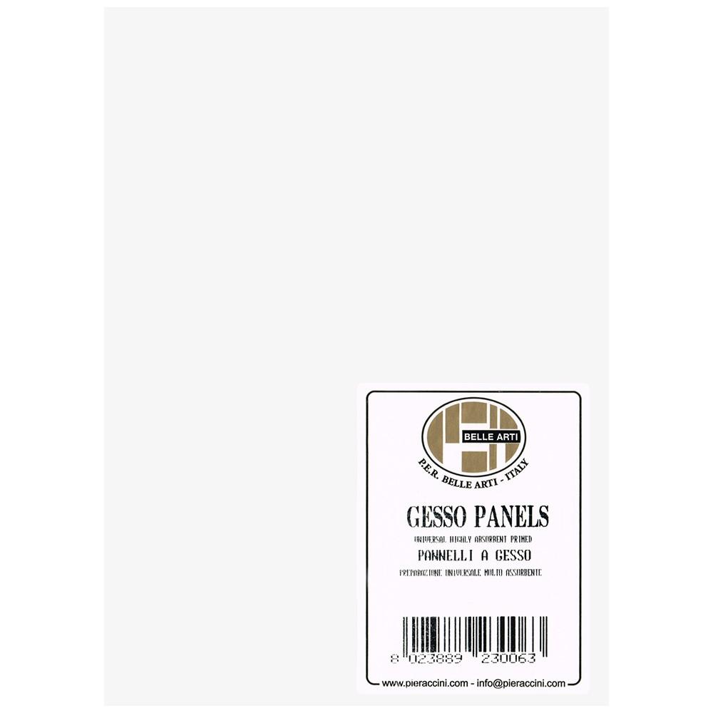 Belle Arti : Gesso Panel : Multi-Ply Poplar Wood Base : 13x18cm