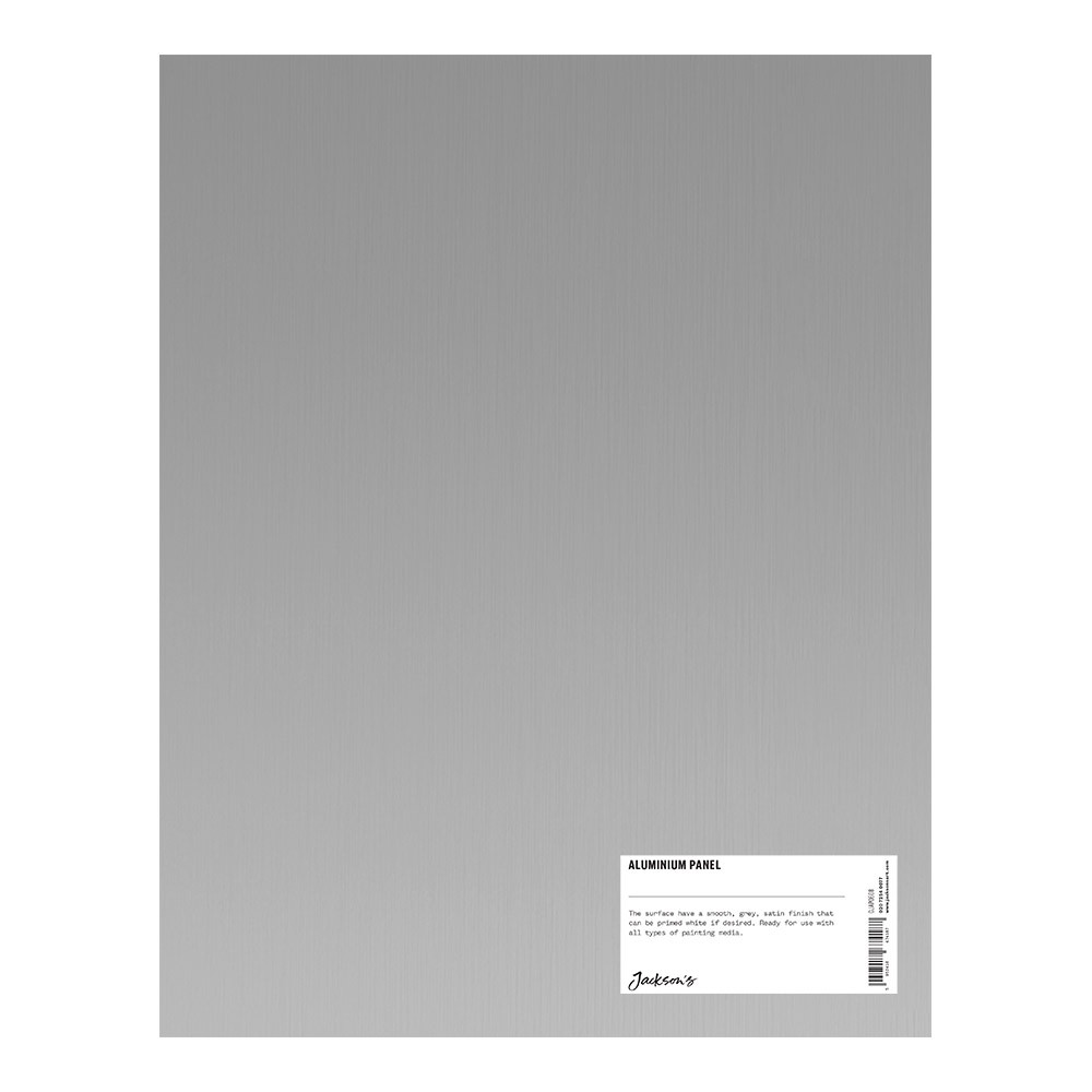 Jackson's : Aluminium Panel : 11x14 Inch (Approx. 28x36cm) : Ready Prepared For All Media