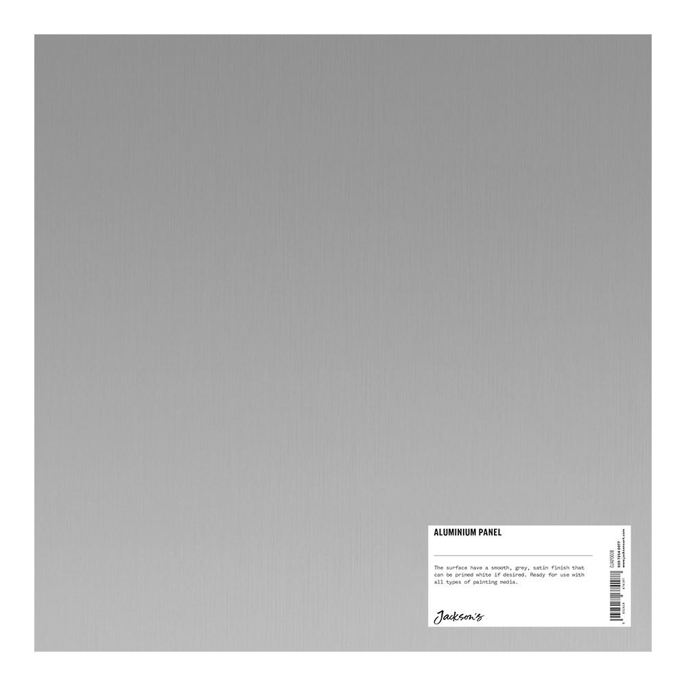 Jacksons : Aluminium Panel : 12x12 Inch (30x30cm) : ready prepared for all media