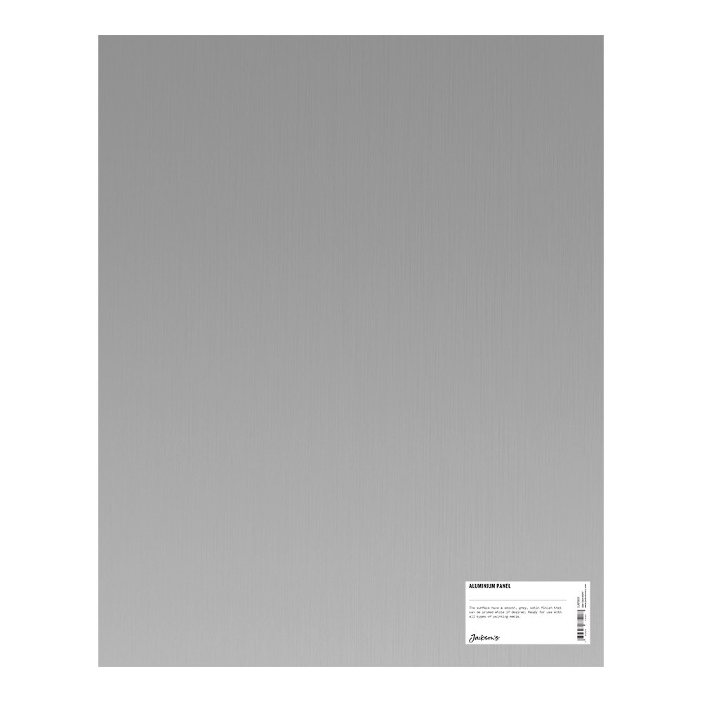 Jacksons : Aluminium Panel : 16x20 Inch (40x50cm) : ready prepared for all media