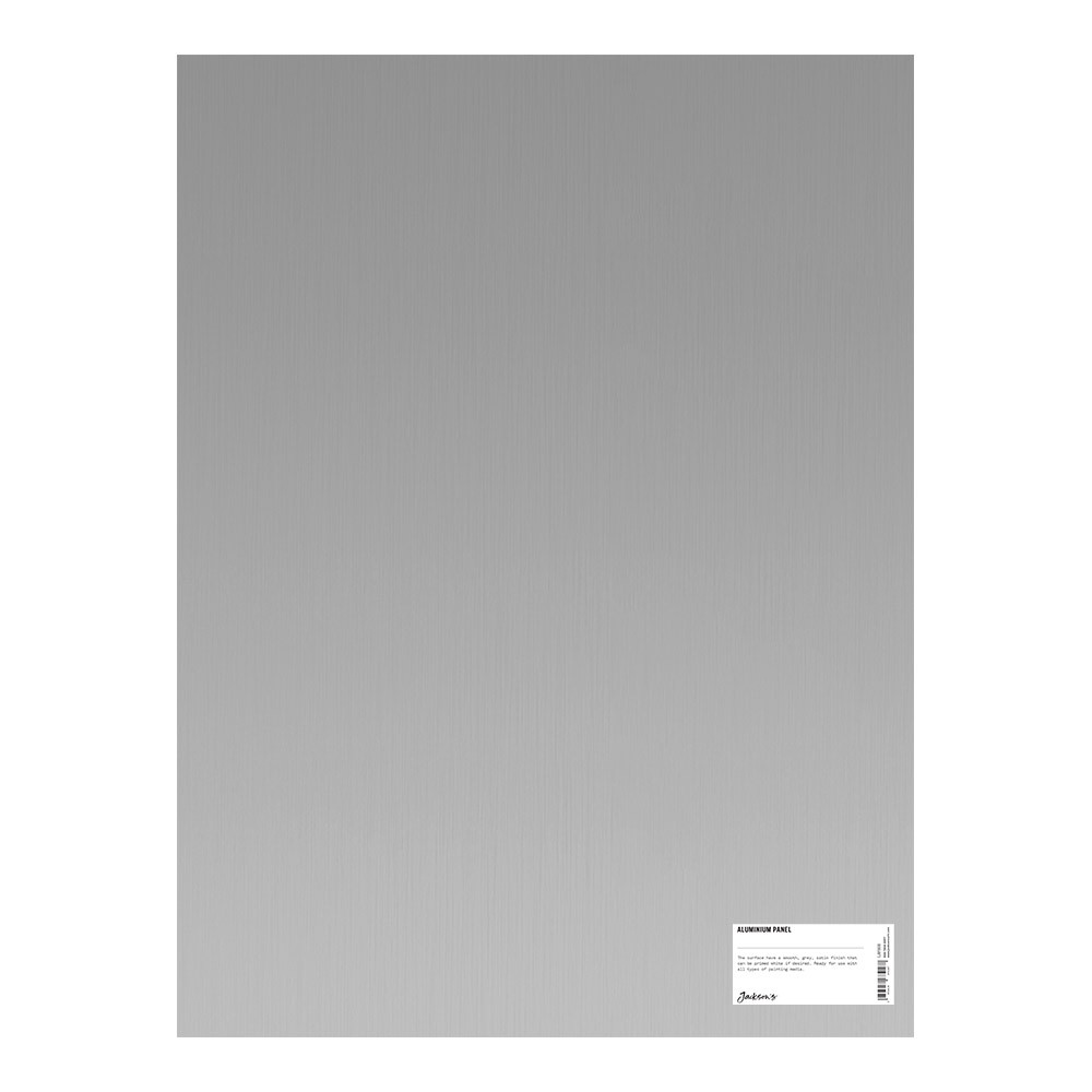 Jacksons : Aluminium Panel : 18x24 Inch (46x61cm) : ready prepared for all media