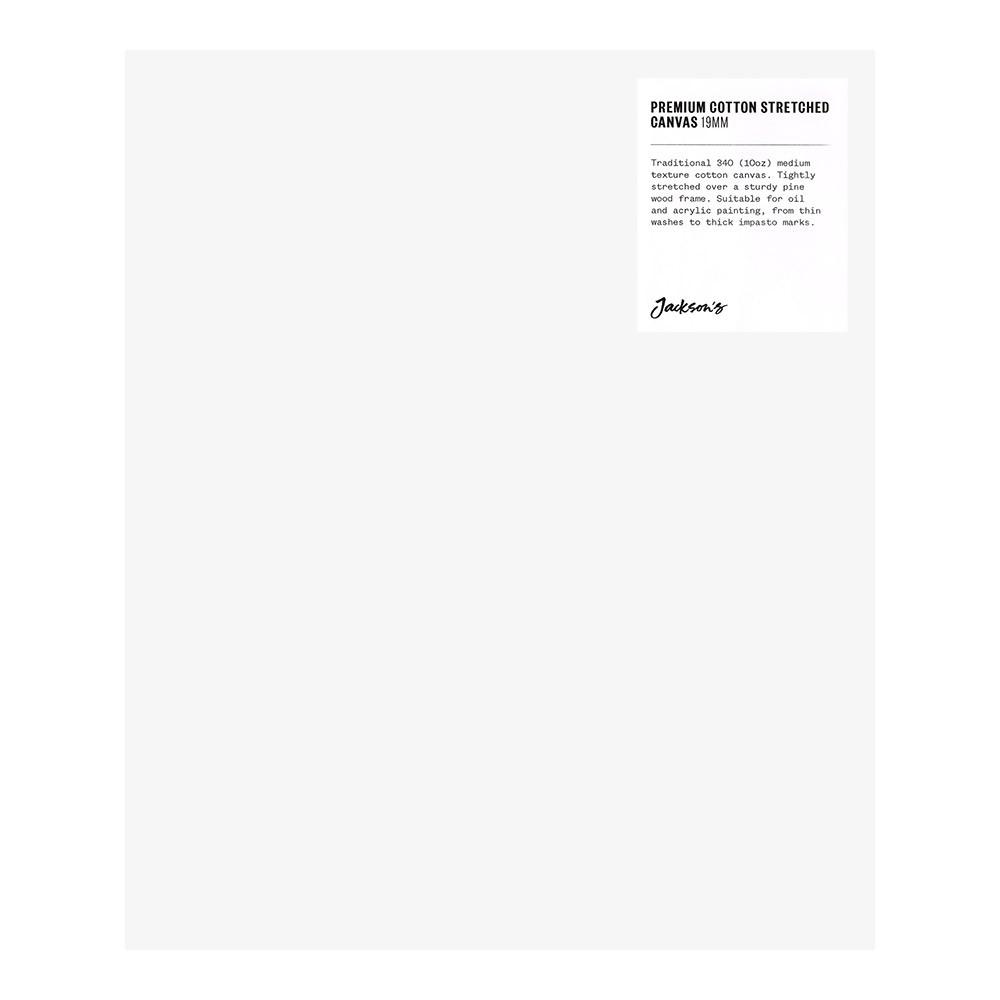 Jackson's : Single : Premium Cotton Canvas : 10oz 19mm Profile 25x30cm (Apx.10x12in)