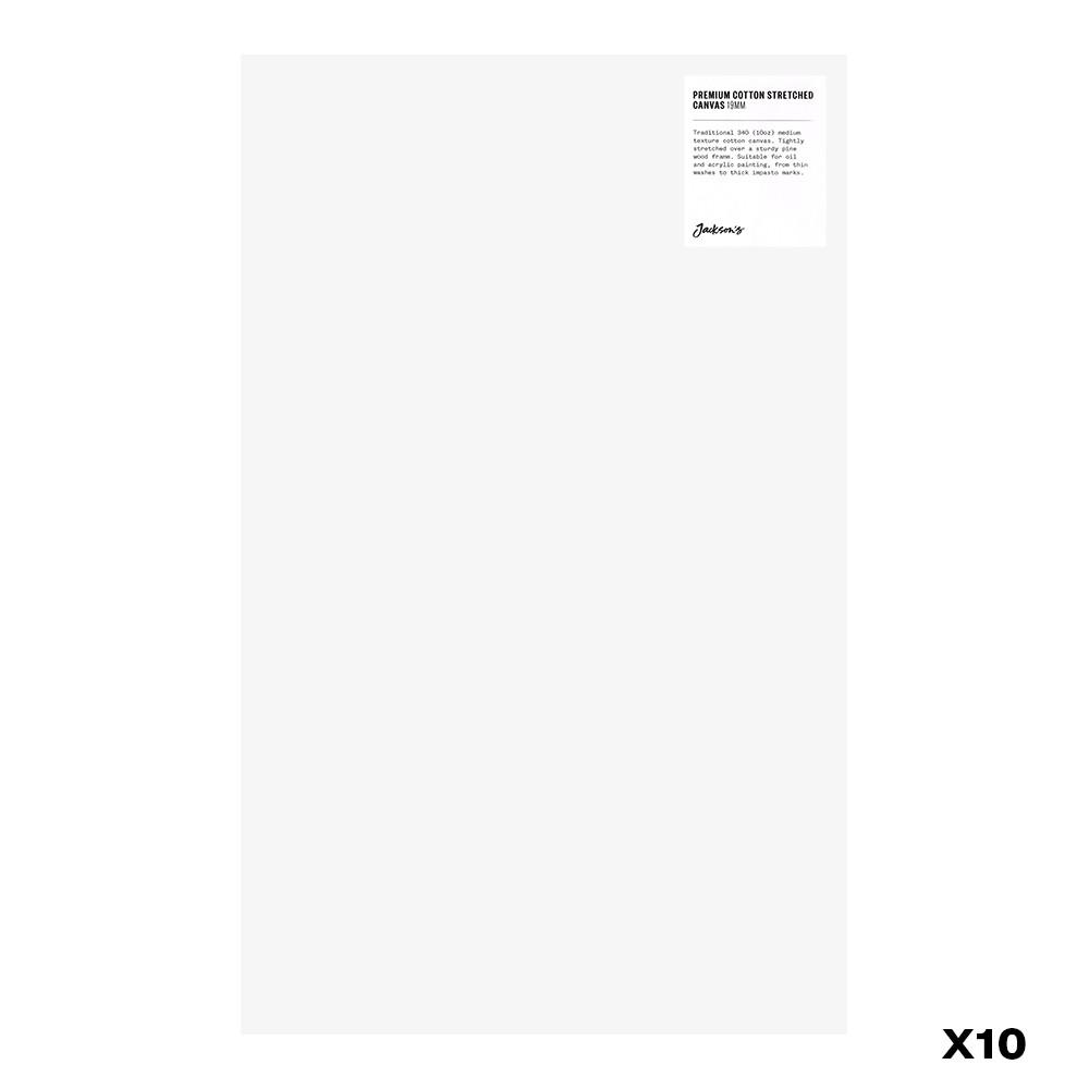 Jackson's : Box of 10 : Premium Cotton Canvas : 10oz 19mm Profile 30x48.5cm : GS