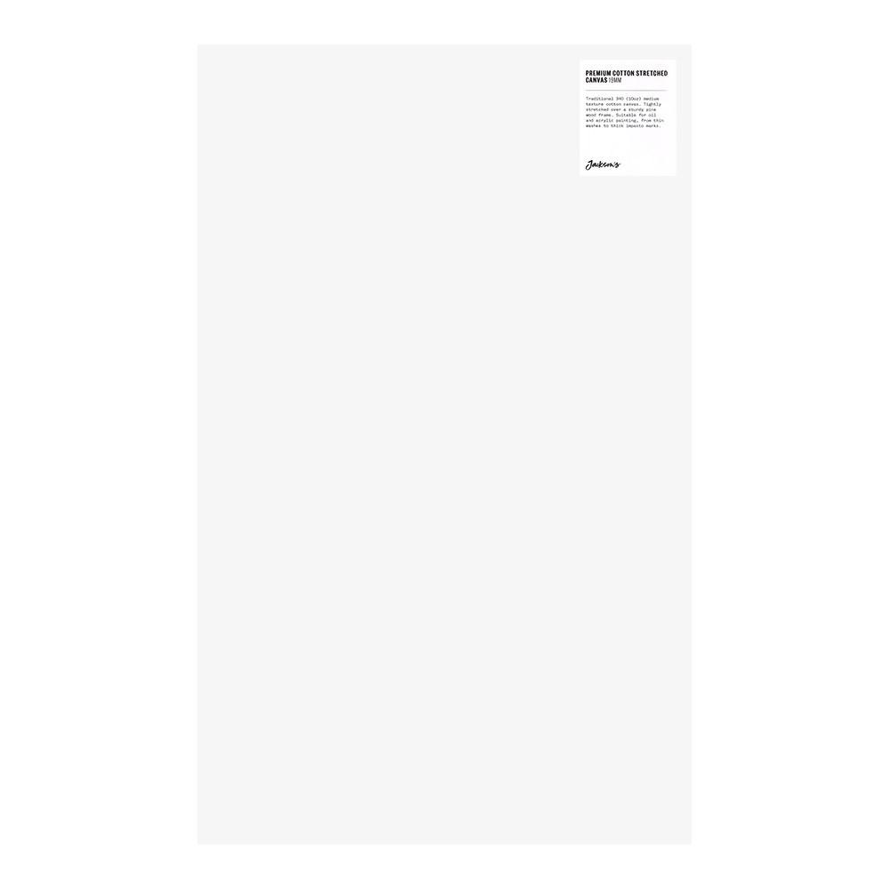 Jackson's : Single : Premium Cotton Canvas : 10oz 19mm Profile 36x58.3cm : GS