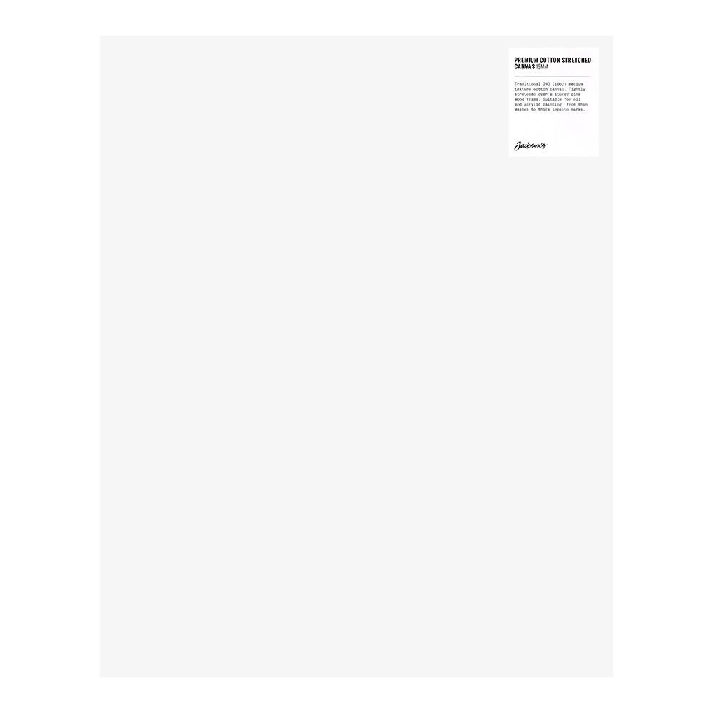 Jackson's : Single : Premium Cotton Canvas : 10oz 19mm Profile 40x50cm (Apx.16x20in)