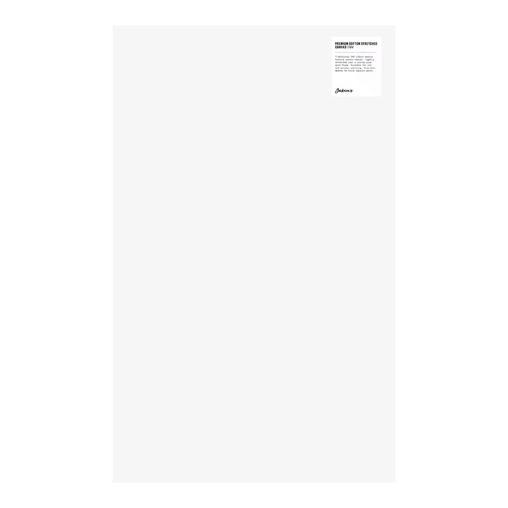 Jackson's : Single : Premium Cotton Canvas : 10oz 19mm Profile 40x64.7cm : GS (-)