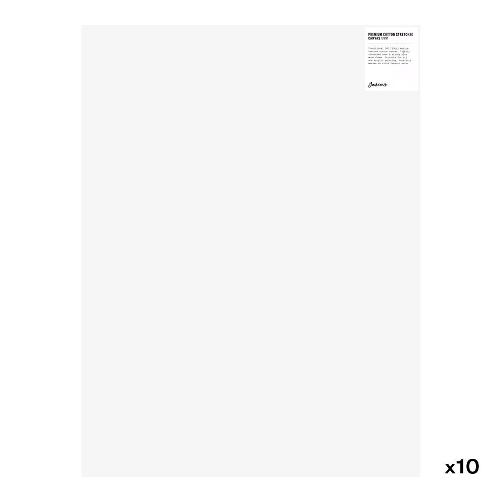 Jackson's : Box of 10 : Premium Cotton Canvas : 10oz 19mm Profile 45x60cm (Apx.18x24in)