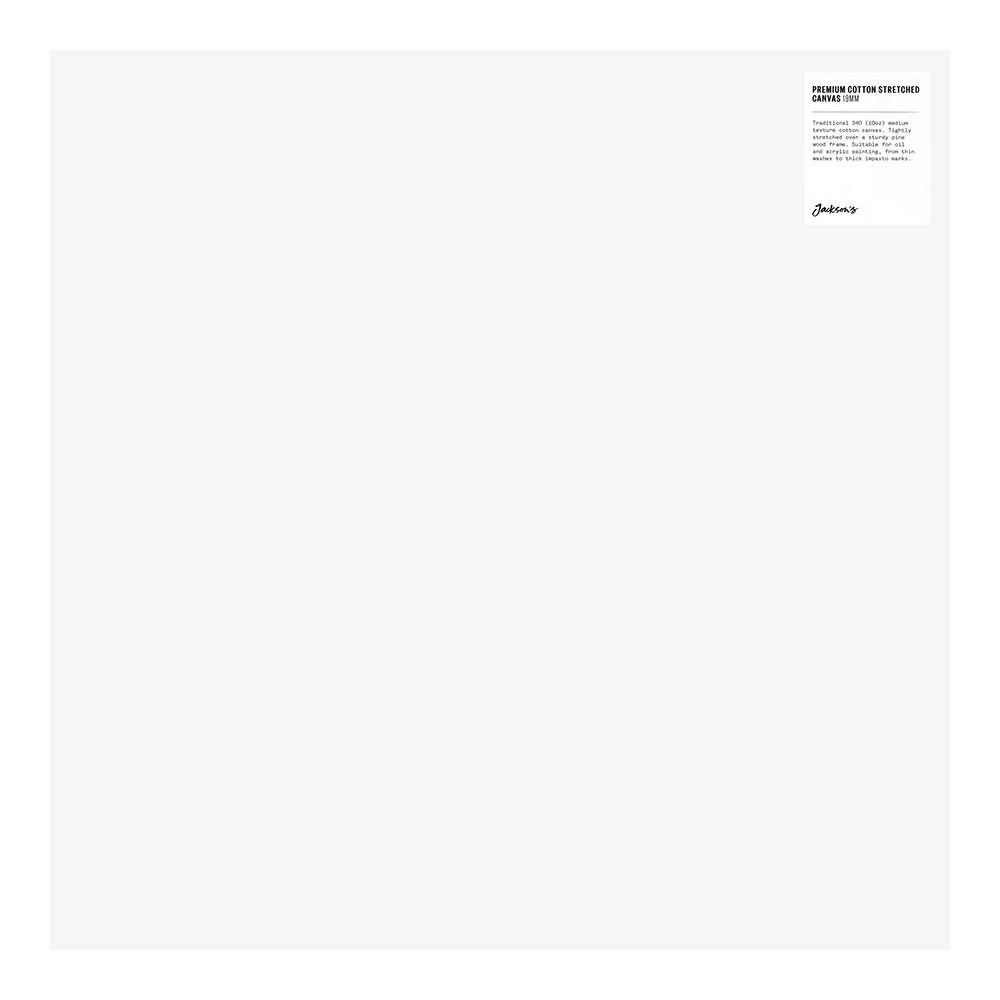 Jackson's : Single : Premium Cotton Canvas : 10oz 19mm Profile 50x50cm (Apx.20x20in)