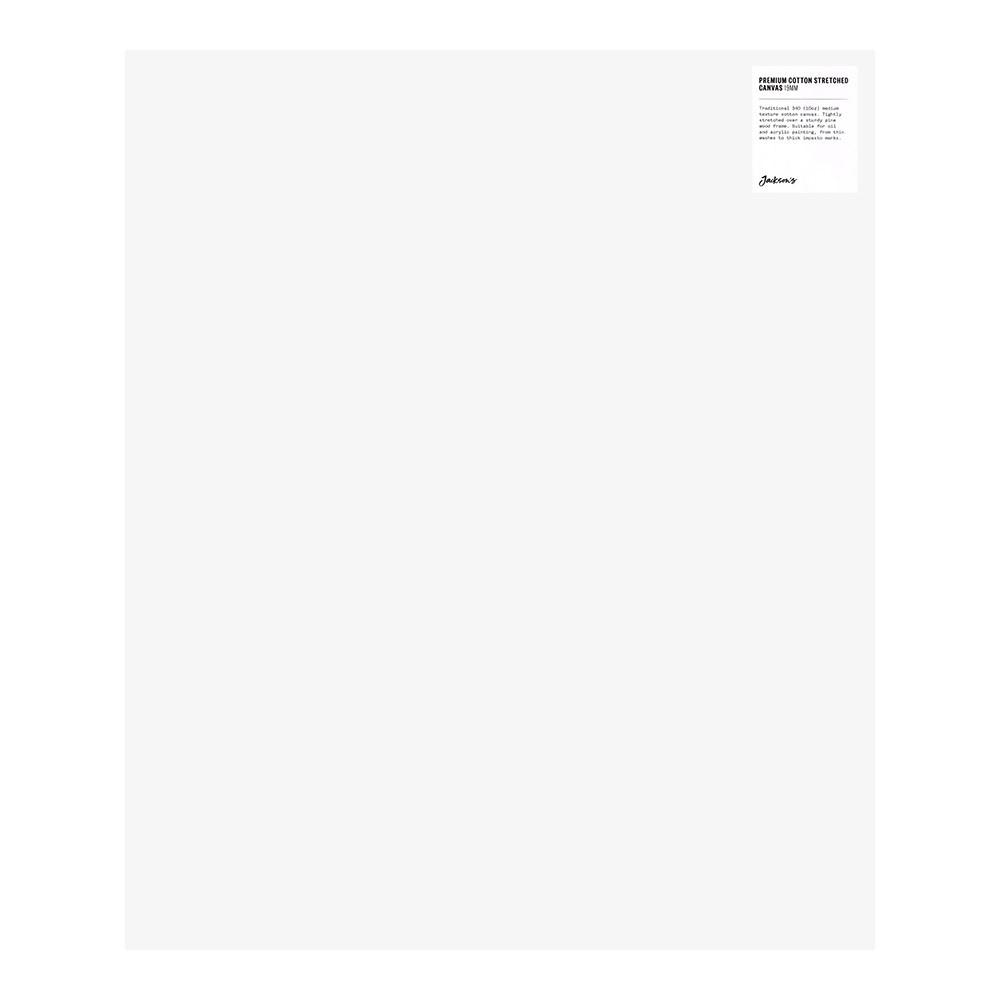Jackson's : Single : Premium Cotton Canvas : 10oz 19mm Profile 50x60cm (Apx.20x24in)