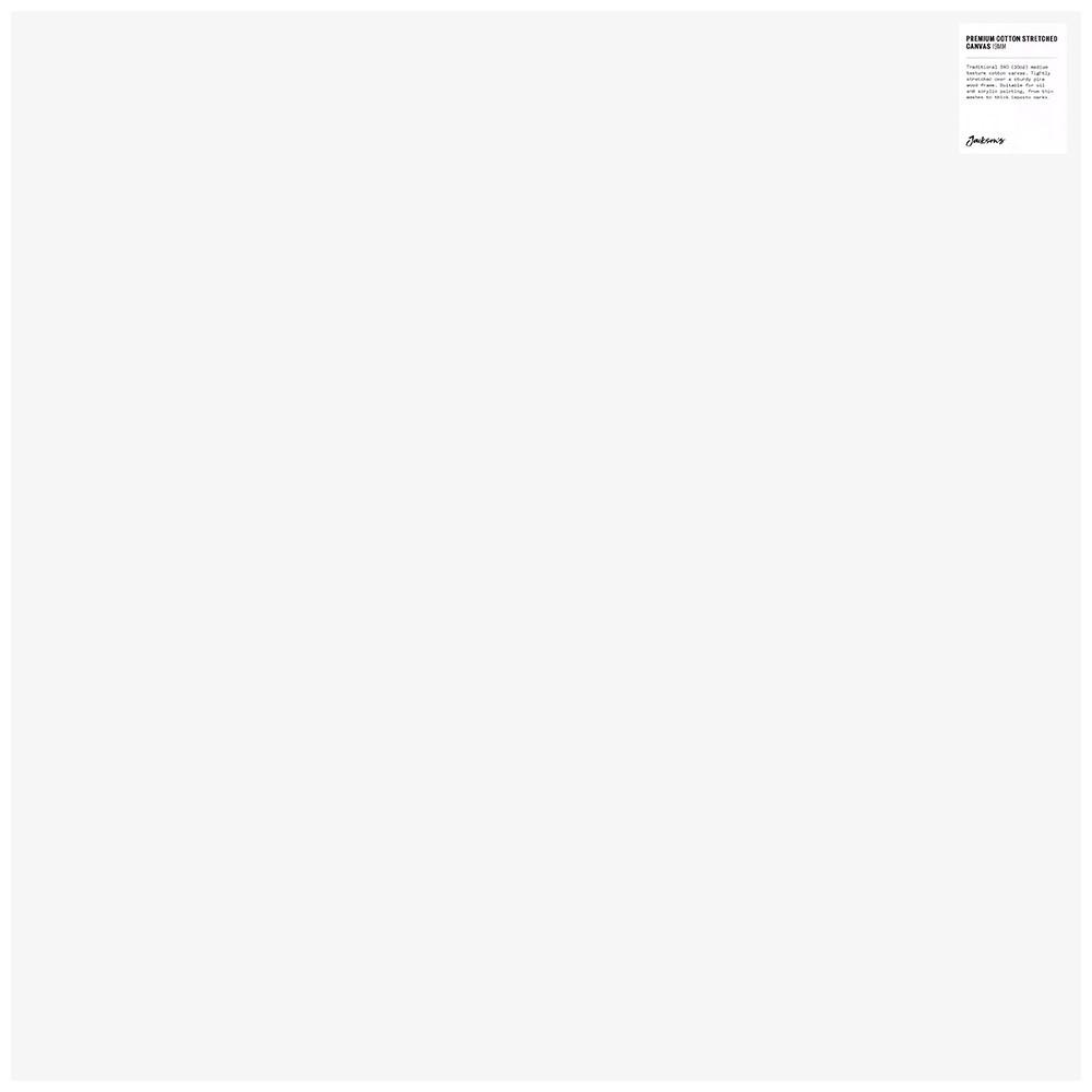 Jackson's : Single : Premium Cotton Canvas : 10oz 19mm Profile 70x70cm (Apx.28x28in)