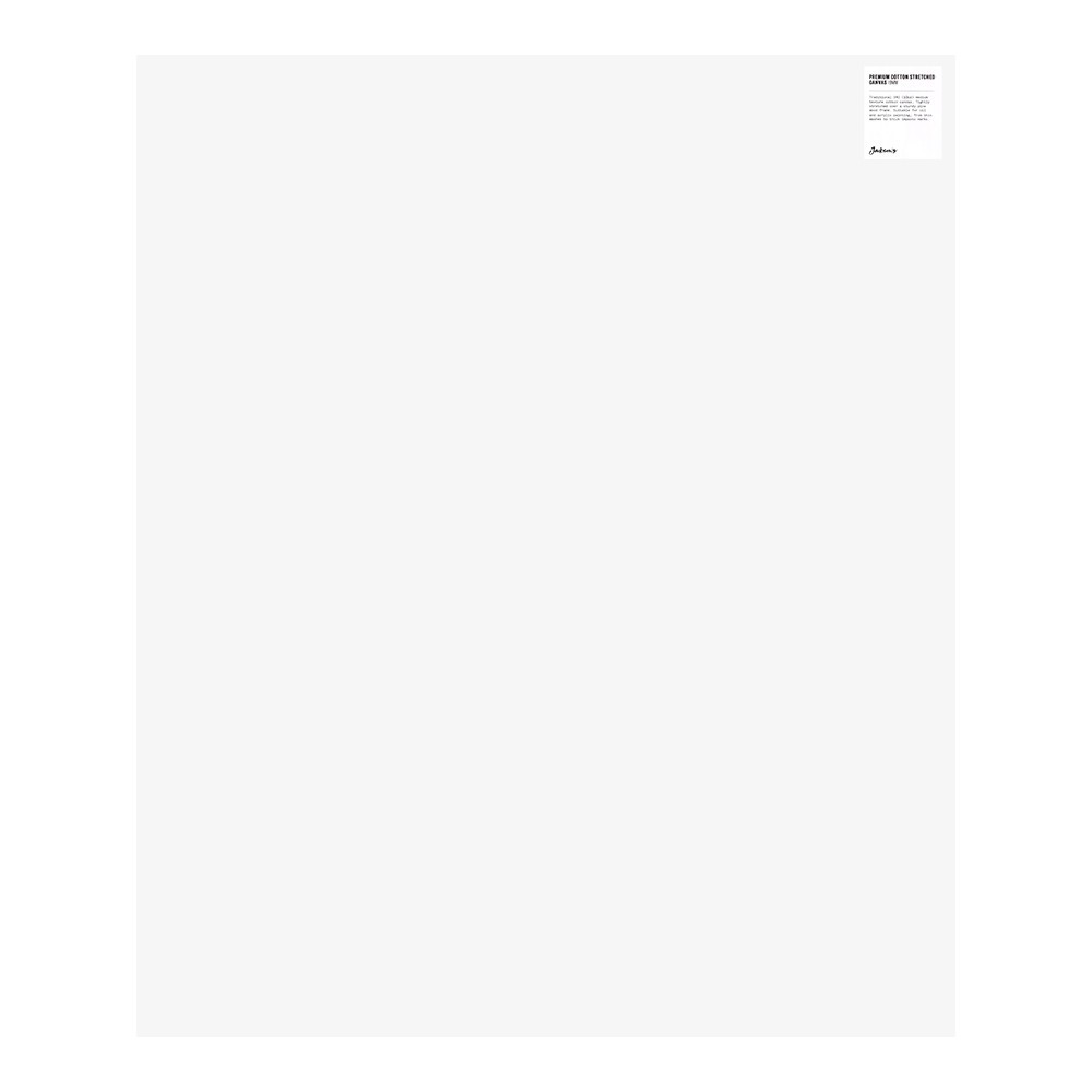 Jackson's : Single : Premium Cotton Canvas : 10oz 19mm Profile 75x90cm (Apx.30x36in)