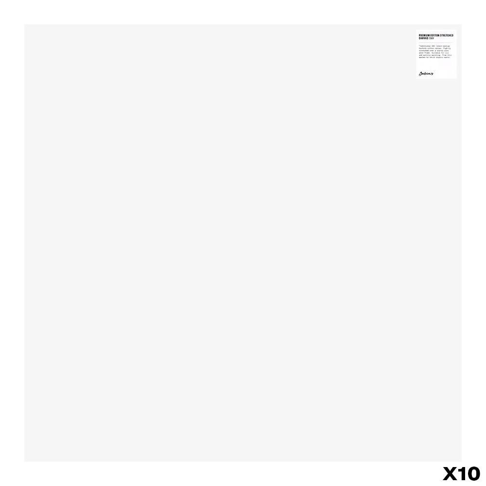 Jackson's : Box of 10 : Premium Cotton Canvas : 10oz 19mm Profile 76x76cm (Apx.30x30in) (+)