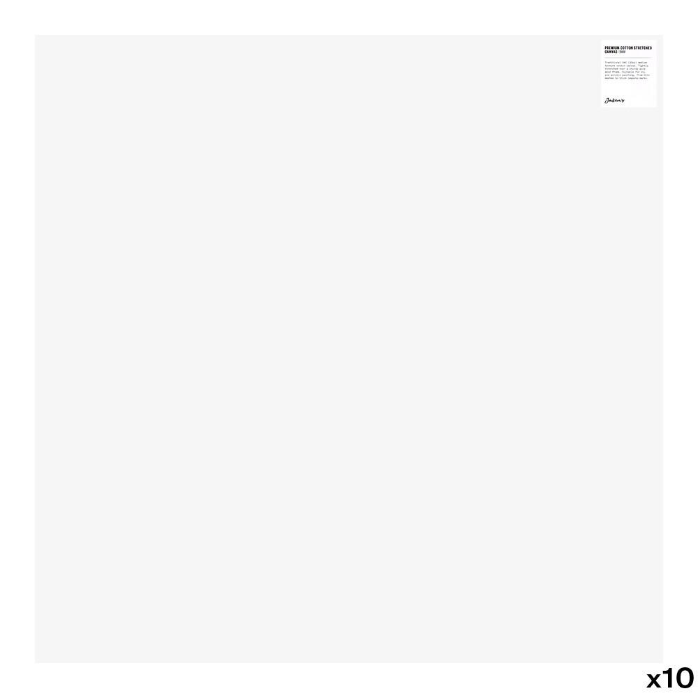 Jackson's : Box of 10 : Premium Cotton Canvas : 10oz 19mm Profile 80x80cm (Apx.32x32in)