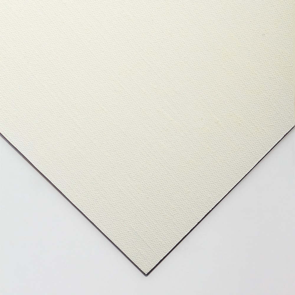 Jackson's : Handmade Boards : Oil Primed Medium Linen CL536 on MDF Board : 13x18cm