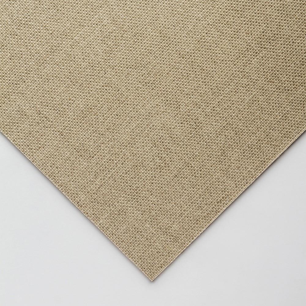 Jackson's : Handmade Board : Clear Glue Sized Rough Linen CL681 on MDF Board : 18x24cm