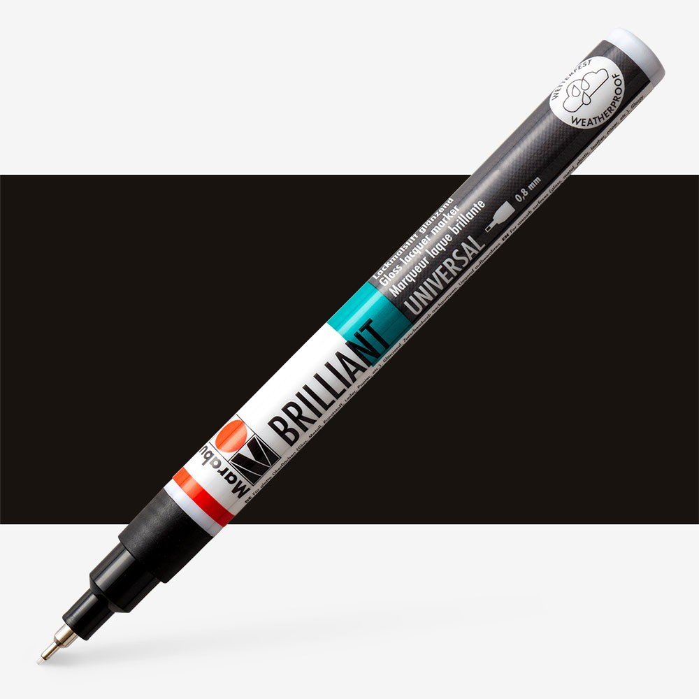 Marabu : Brilliant Painter : 0.8mm : Black