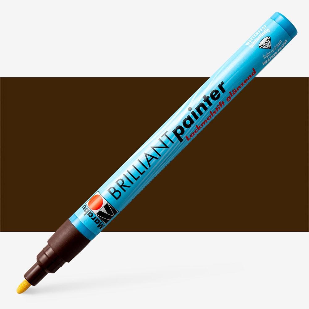 Marabu : Brilliant Painter : 1-2mm : Cocoa