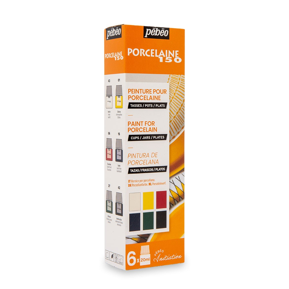 Pebeo : Porcelaine 150 DISCOVERY SET 6 x 20ml