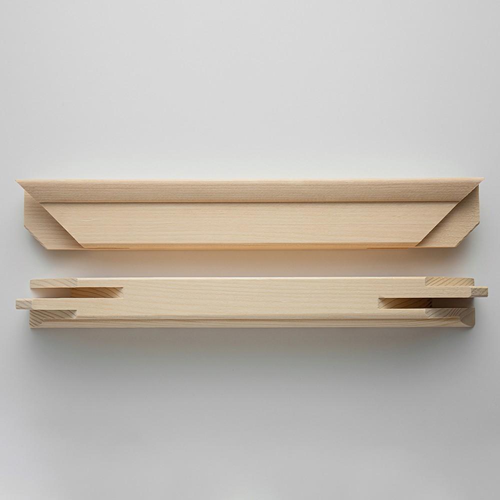 Jackson's : Professional 110cm Stretcher Bar Pair : 43x58mm Profile
