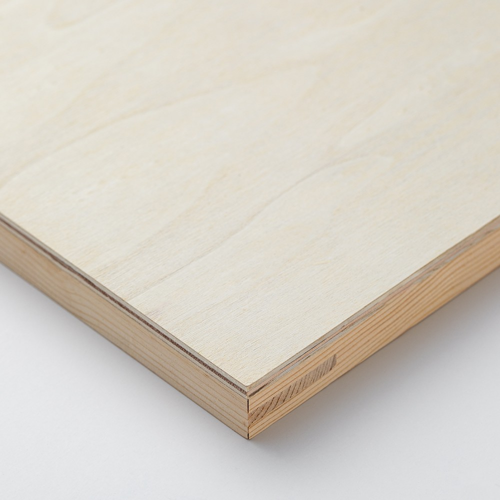 Jackson's : Wooden Panel : 10x10in (Approx. 25x25cm) : 20mm Deep