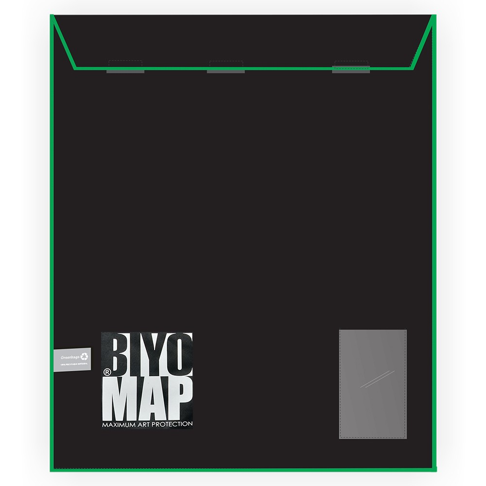 Biyomap : Reusable Artwork Shipping and Storage Bag : 160x210cm (Green)