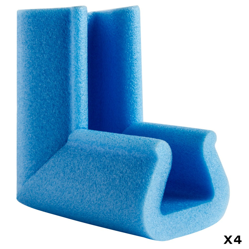Biyomap : Biyosafe : Foam Corner Protector : Sides 100mm Long : 35x45mm : Set of 4