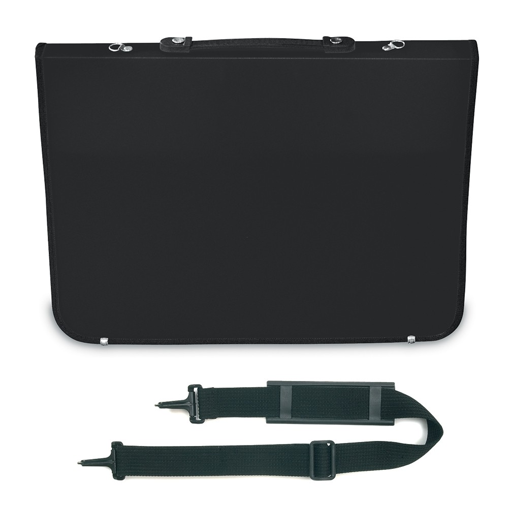 Mapac : A3 Academy Portfolio : Black : Shoulder Strap Included