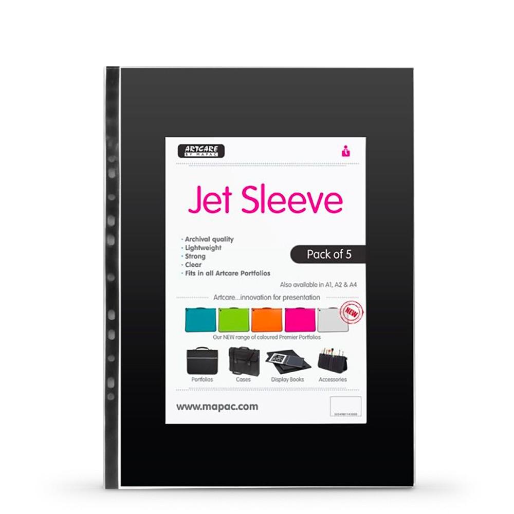 Mapac : A2 Jet Archival Portfolio Sleeve : 80 Micron : 5 Pack
