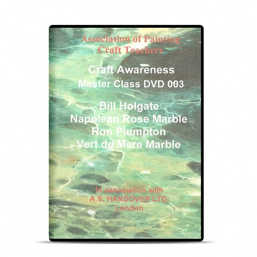 APCT : DVD : Napoleon Rose and Vert de Mer Marble : Holgate and Plumpton