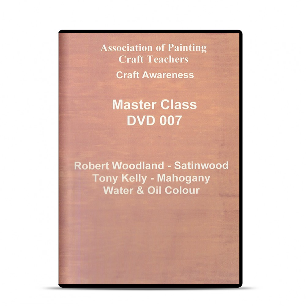 APCT : DVD : Satinwood and Mahogany Water and Oil : R Woodland and T Kelly