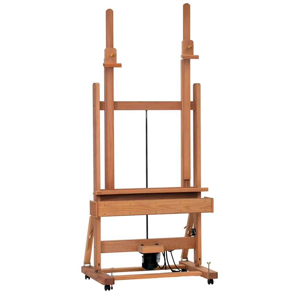 Mabef : M02-a Studio Easel Switch Operated Powered Raising